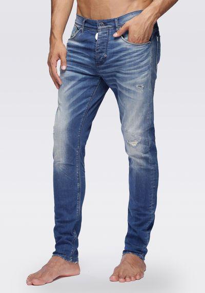 Jeans carrot stretch Duran | Pantalones de mezclilla ...