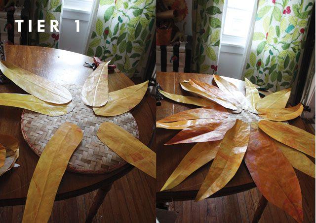 Como hacer girasoles de tela como hacer un girasol - Como hacer un cabecero de tela ...