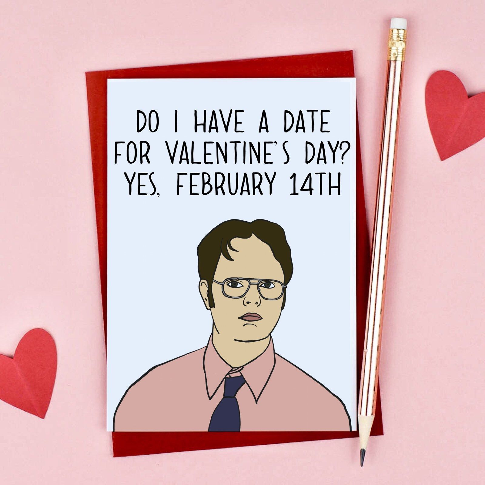 Excited To Share This Item From My Etsy Shop Funny Dwight The Office Inspired Valentines Funny Valentines Cards The Office Valentines Funny Valentines Gifts The office valentines day card