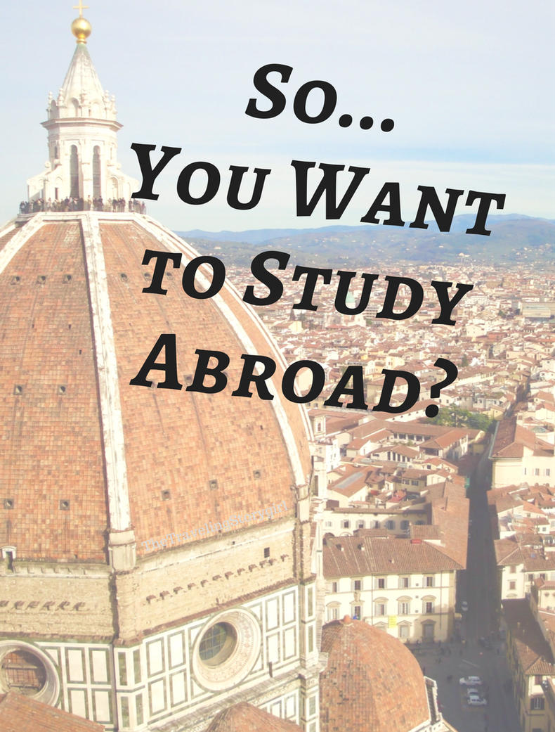 So You Want To Study Abroad The Traveling Storygirl Study Abroad Study Abroad Scholarships Travel