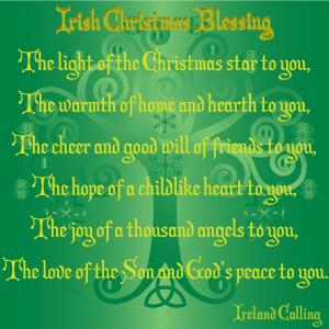 Irish Christmas Blessing | Éirinn go Brách | Pinterest | Christmas ...