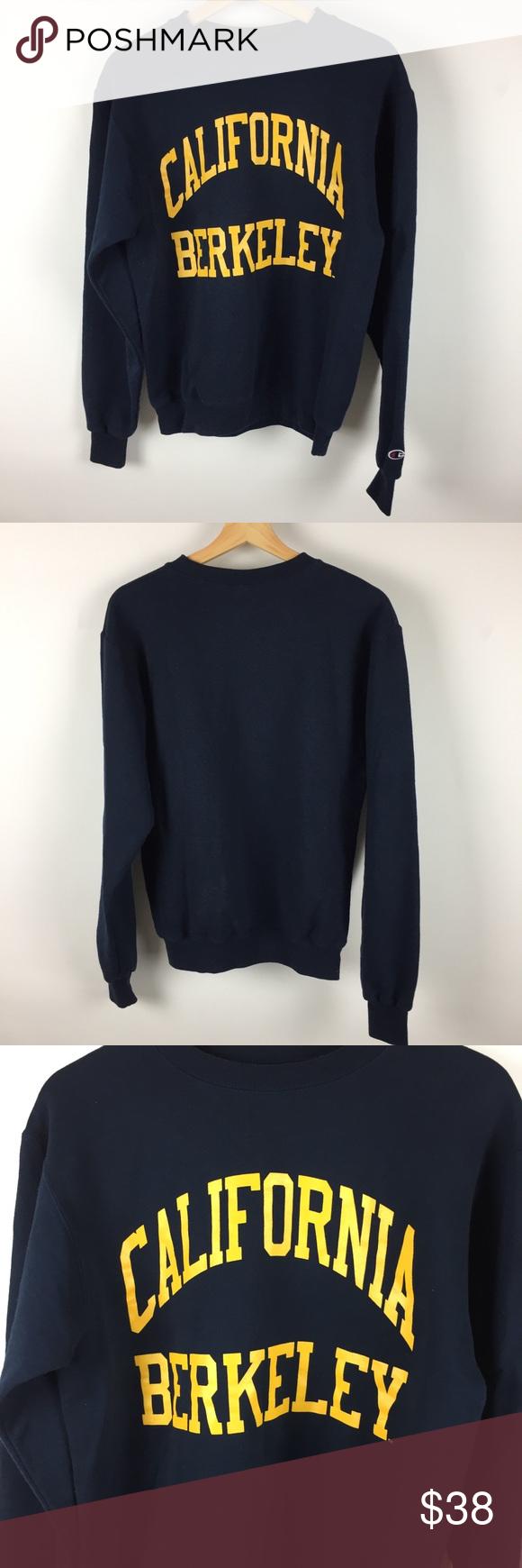 California Berkeley Champion Eco Fleece Sweatshirt Sweatshirts Sweatshirt Fleece Sweatshirt Tops [ 1740 x 580 Pixel ]