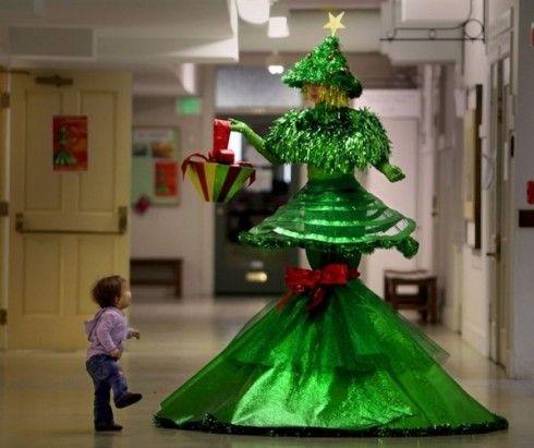 Christmas Tree Dress Unusual Christmas Trees Christmas Tree Dress Christmas Tree Costume