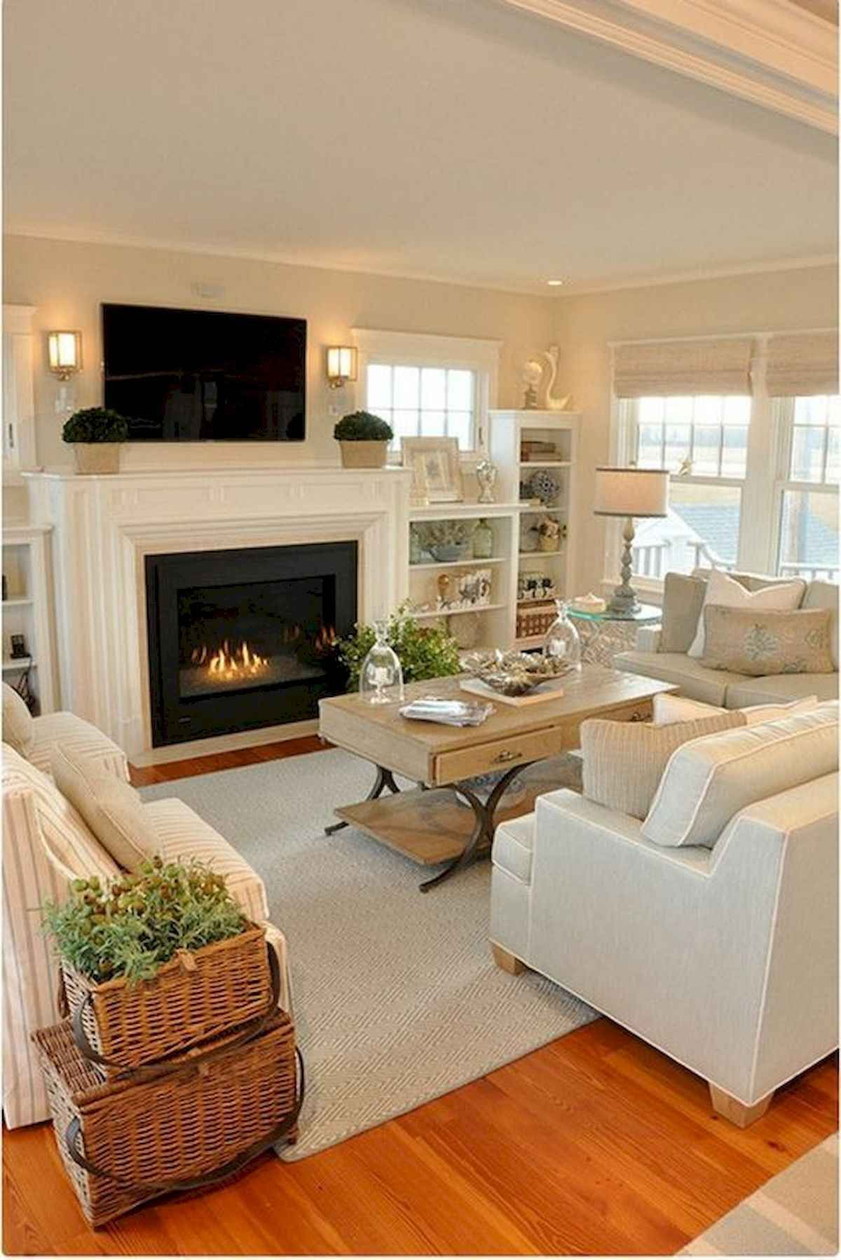 Best 30 Elegant Farmhouse Living Room Decor Ideas 1 400 x 300