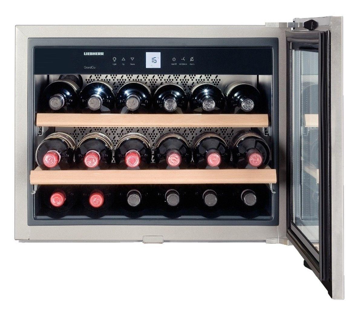 Liebherr Wkees 553 Grandcru Silver Wine Cooler Built In Wine Cooler Wine Storage Cabinets Wine Cabinets