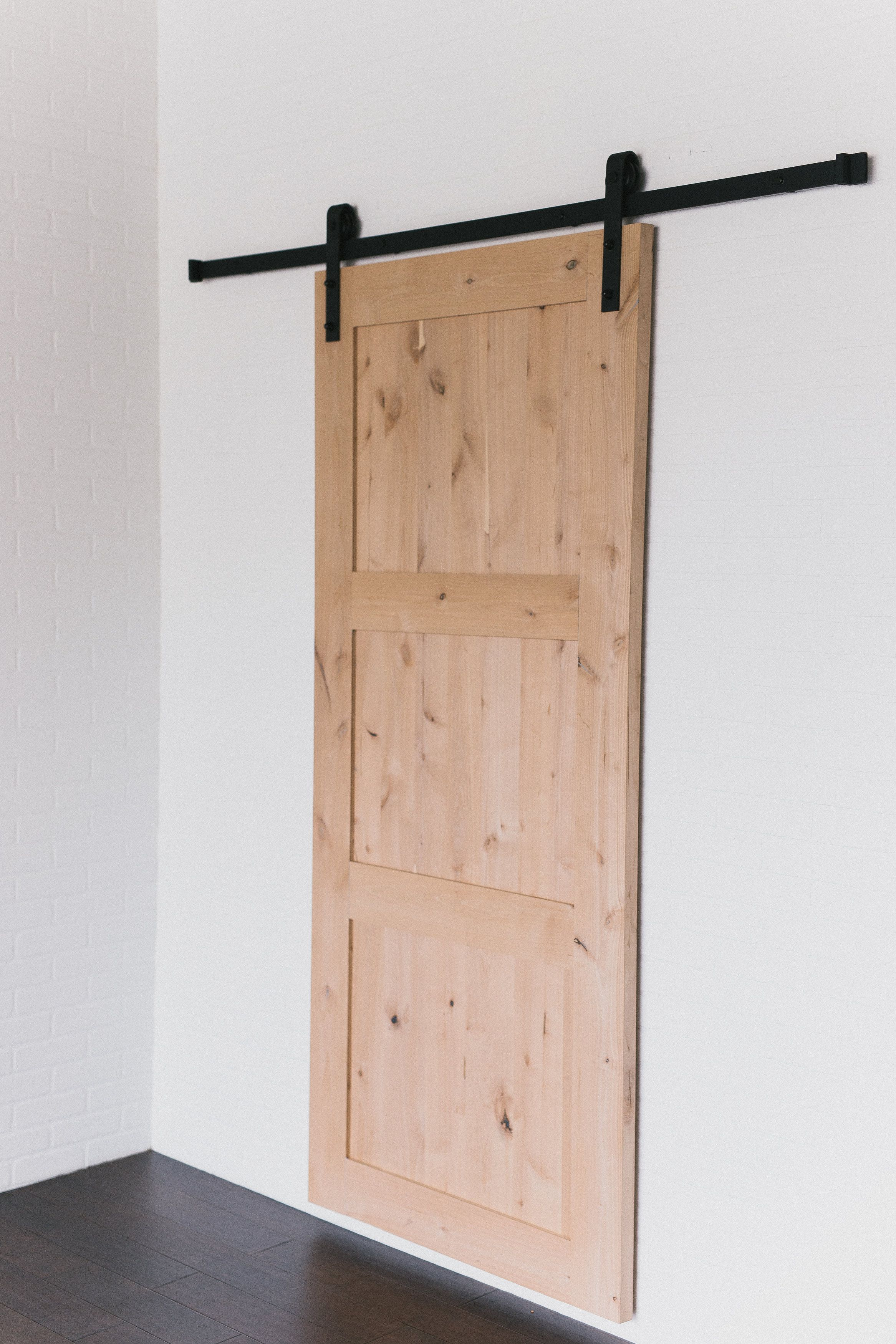Quick Ship 3 Panel Barn Door Barndoorhardware Com Barn Door Doors Paneling