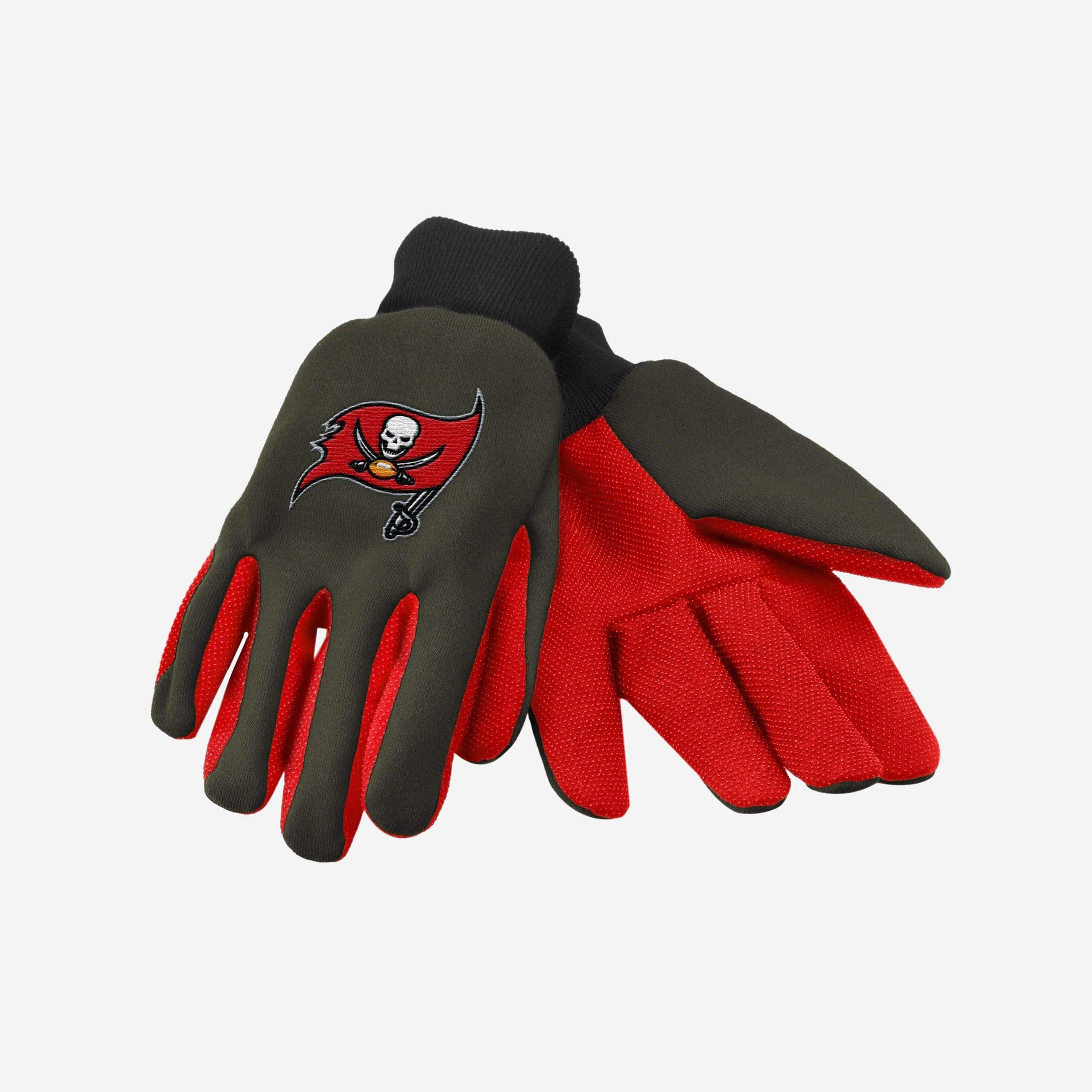 Tampa Bay Buccaneers Colored Palm Utility Glove In 2020 Tampa Bay Buccaneers Tampa Bay Buccaneers