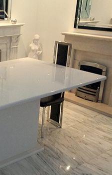 Technistone   Quality Quartz Kitchen Worktops | Starlight White