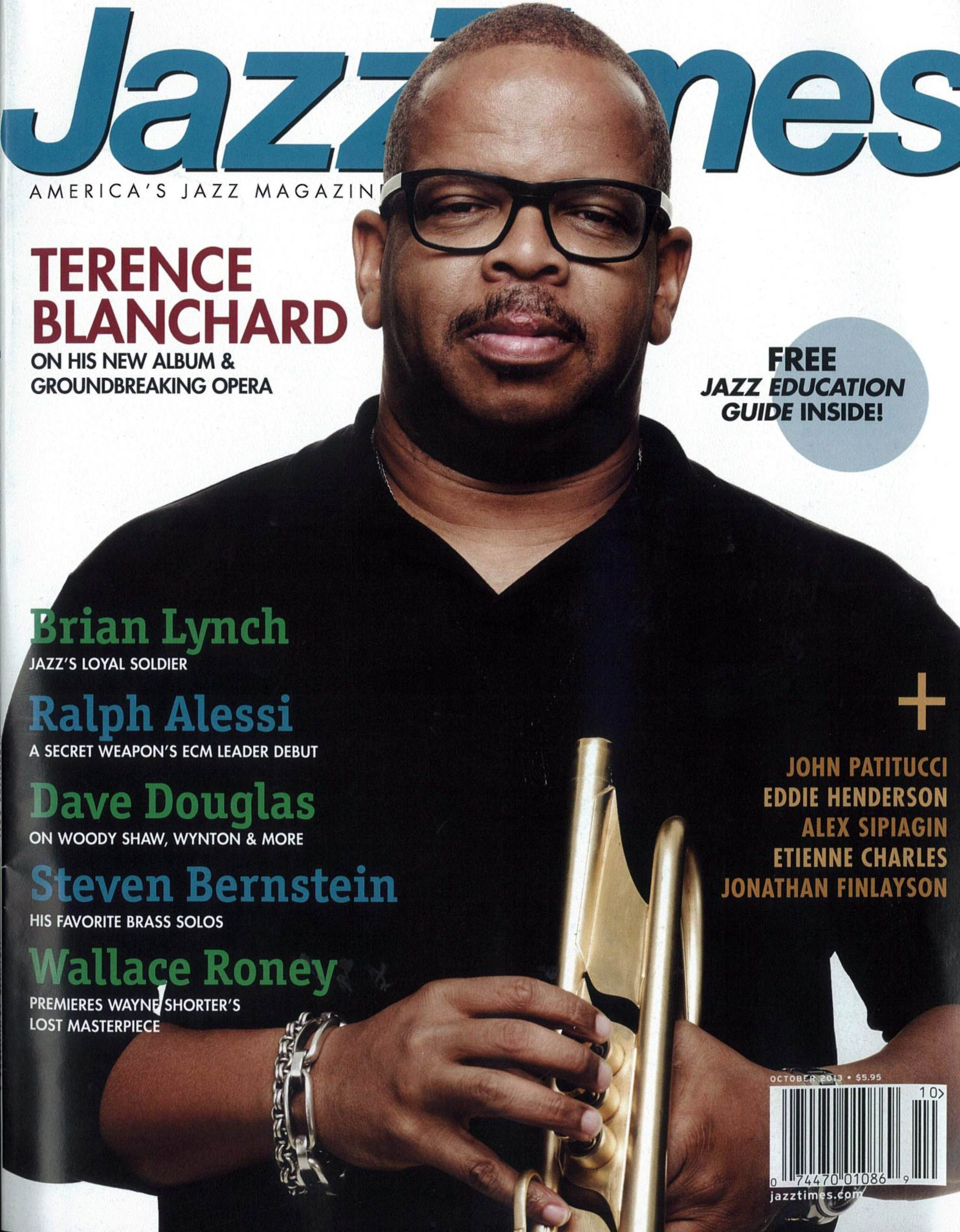 Terence Blanchard graces the October cover of JazzTimes!