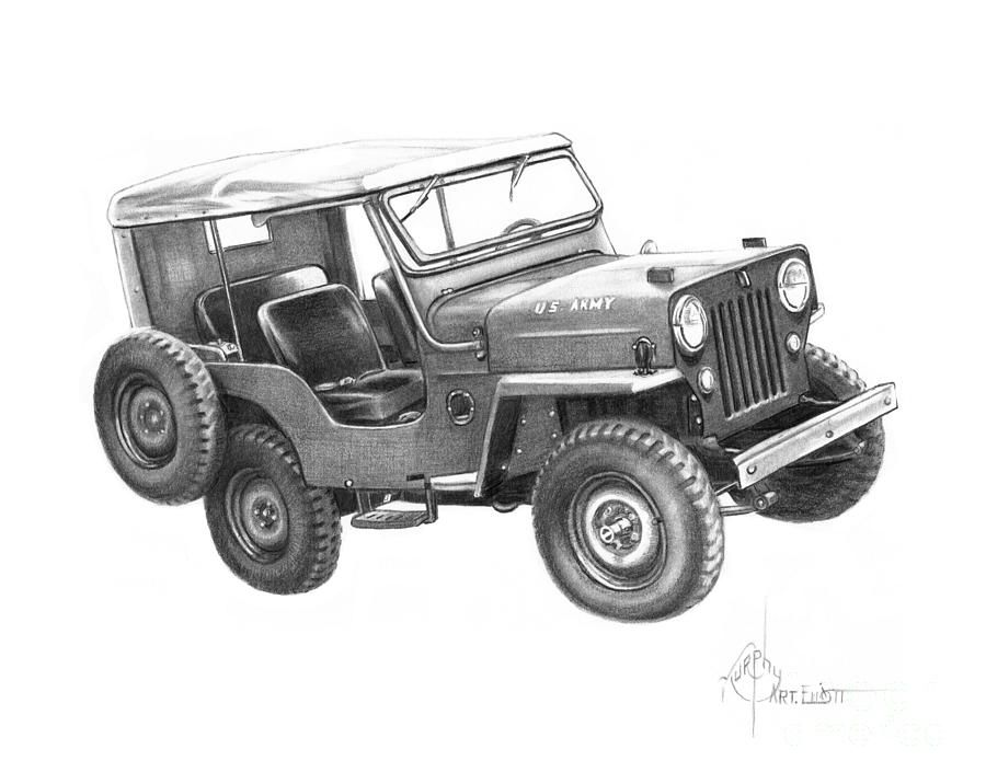 U S Army Jeep Brigada
