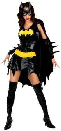 Halloween Costume!!:$17.85 - $125.59 Don't miss OUT!!! on DC Comics Deluxe Batgirl Adult Costume by Rubie's Costume Co