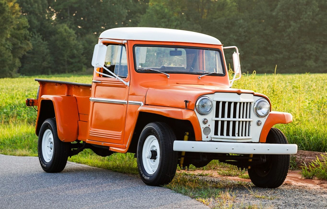 Bid For The Chance To Own A 1962 Willys Overland Jeep Truck W