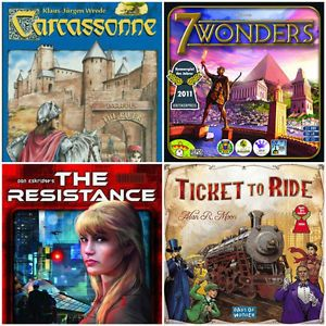The games in this collection are sure to give you something to strategize over or laugh about on your next game night! My family enjoys and repeatedly plays each game in this collection. There are a games...