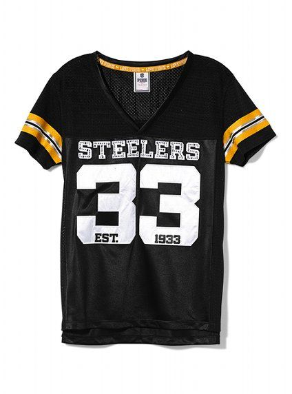 Pittsburgh Steelers Bling Jersey - Victoria s Secret PINK® - Victoria s  Secret 6a04c67e5