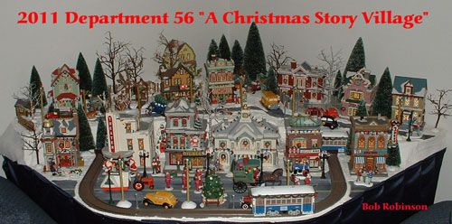 Department 56 Christmas Story Village display | Christmas village ...