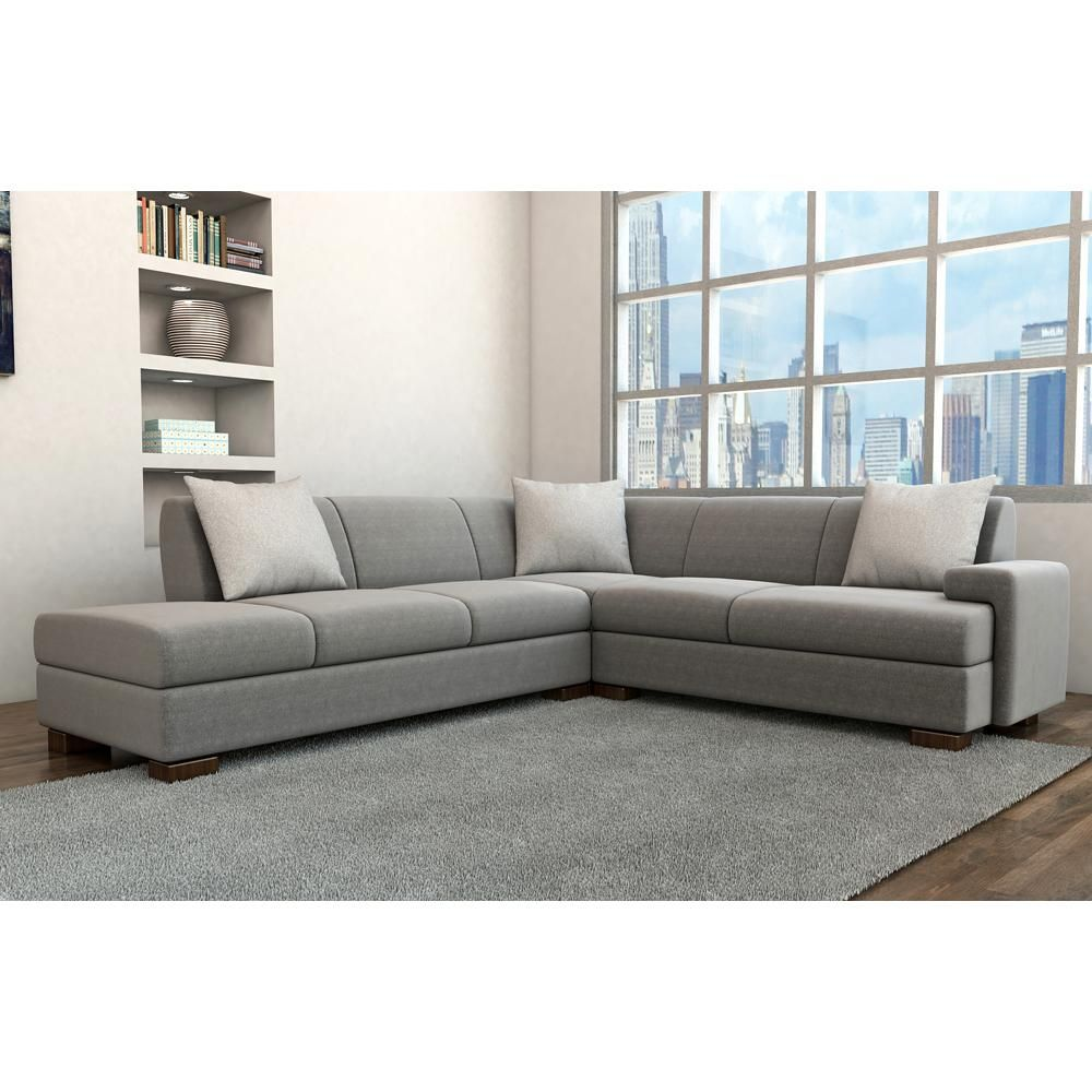 Admirable Boxter Modern Sectional Simple Contemporary Sofa Advance Creativecarmelina Interior Chair Design Creativecarmelinacom