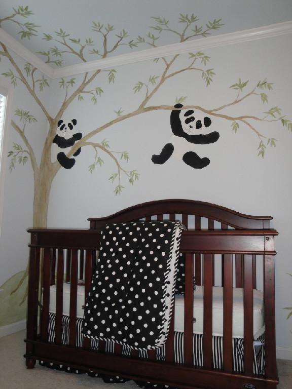 I Love This Idea For A Nursery Nursery Panda Nursery