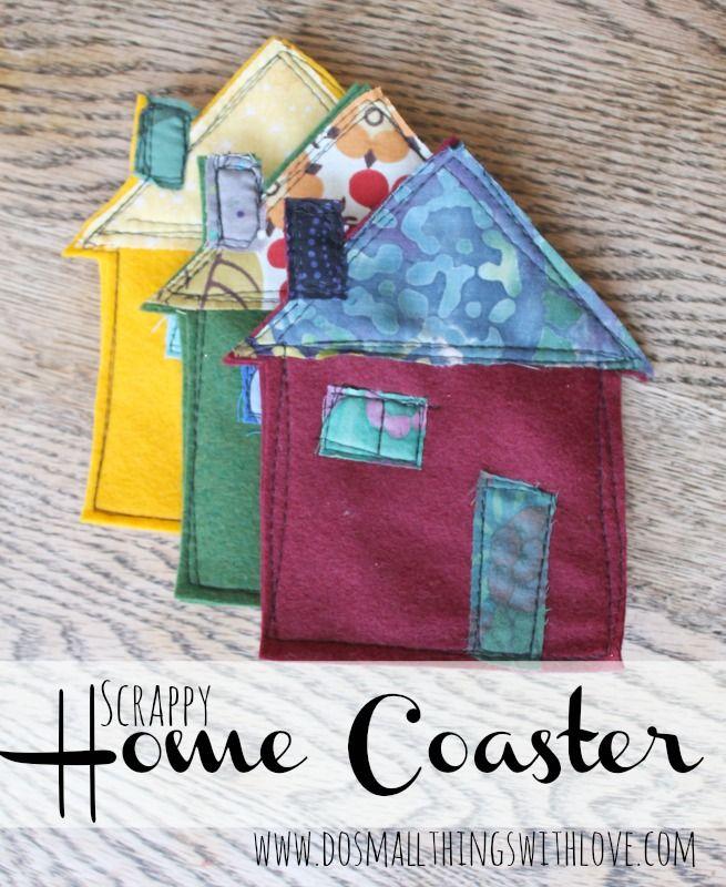 adorable diy home projects ideas. Adorable DIY Scrapbook Home Coasters  a cute gift idea Bloggers