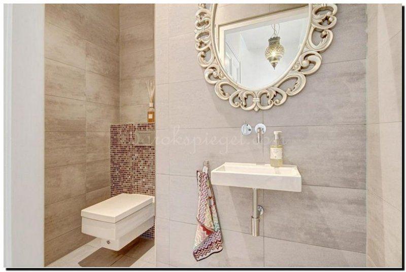 ovale-zilveren-spiegel-paolo-in-toilet-badkamer | ronde spiegel ...