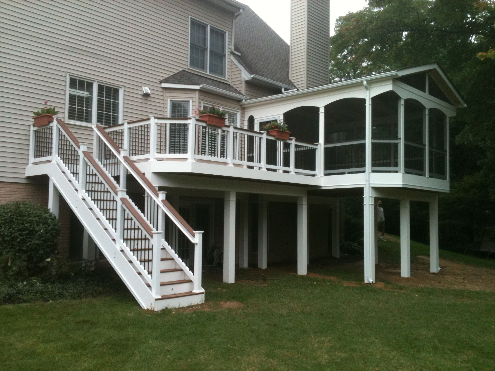 Annandale Deck And Porch Deck Designs Backyard Deck Builders
