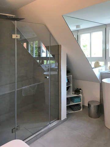 Verspiegelte Fensterlaibung in Badezimmer mit Dachschräge – My Blog
