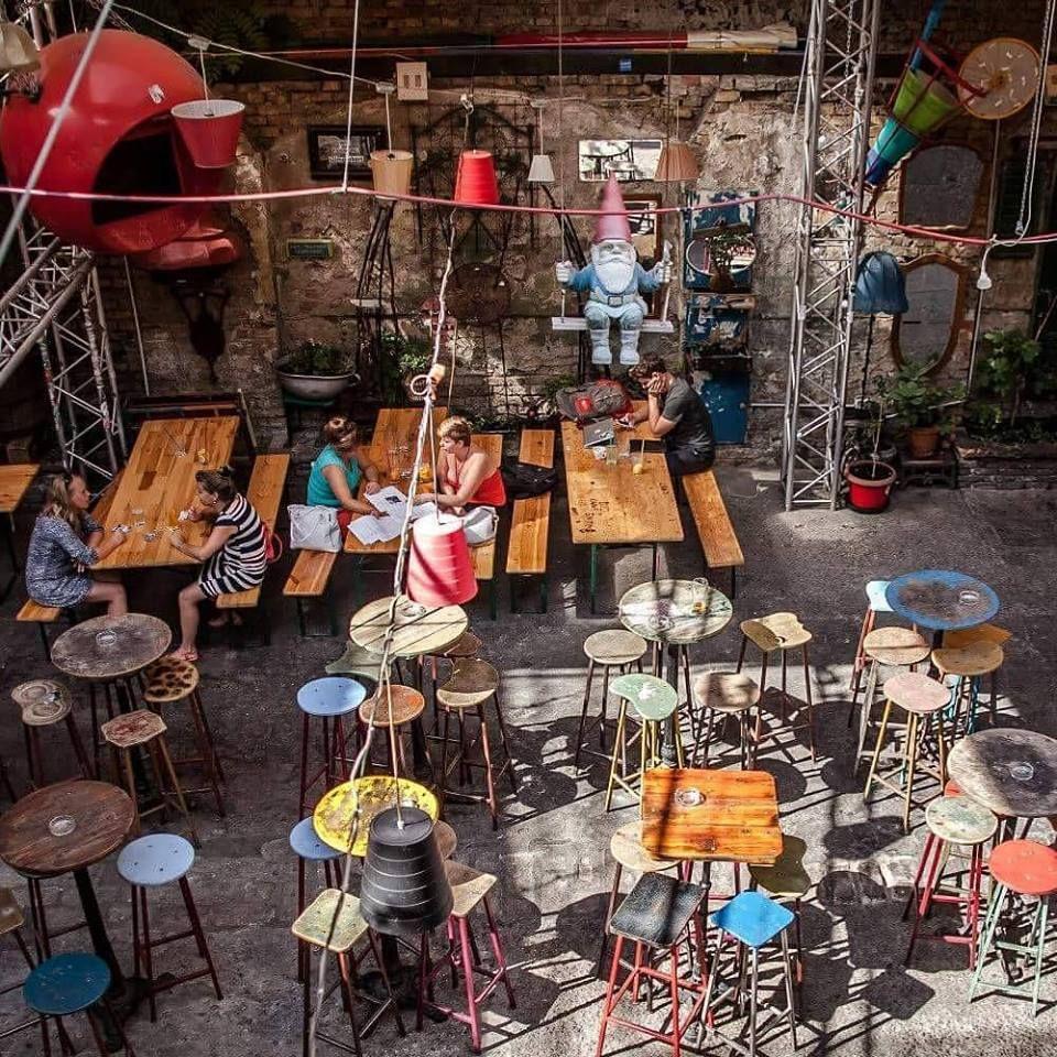 Small Homearchitecture: We Love Budapest S Ultimate Ruin-pub Crawl