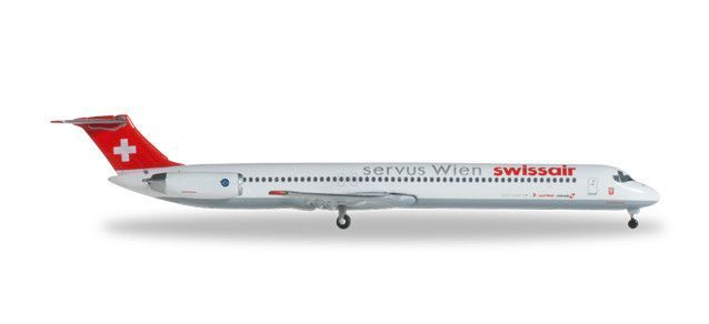 Swissair   MD-81   Servus Wien