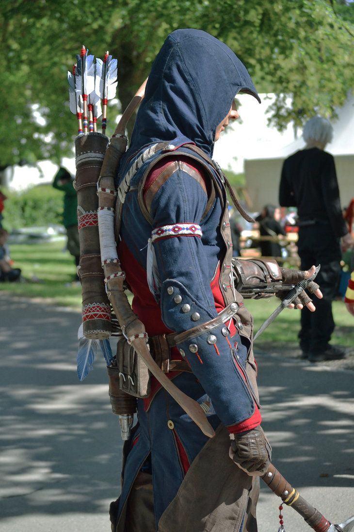 Charleston Connor Kenway Ncs15 Waiting Assassins Creed Outfit