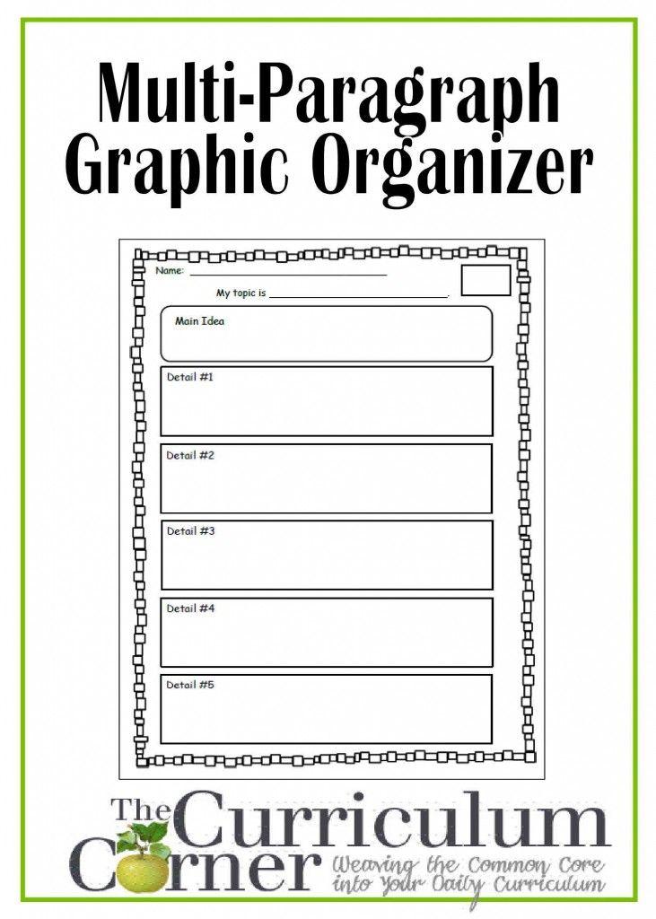 Graphic Research Grade 4th Organizer