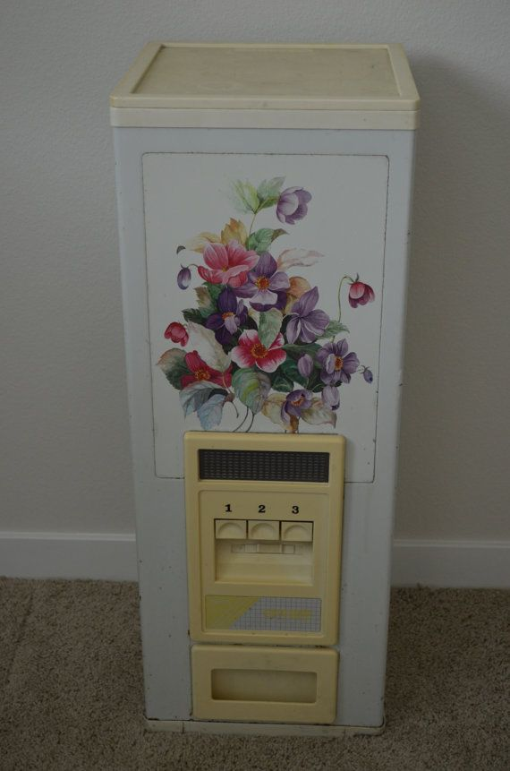 Vintage Korean Floral Patterned Rice Storage By FloridaFinders, $65.00  Storage Containers, Rice, Interior