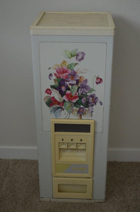 Vintage Korean Floral Patterned Rice Storage By FloridaFinders, $65.00