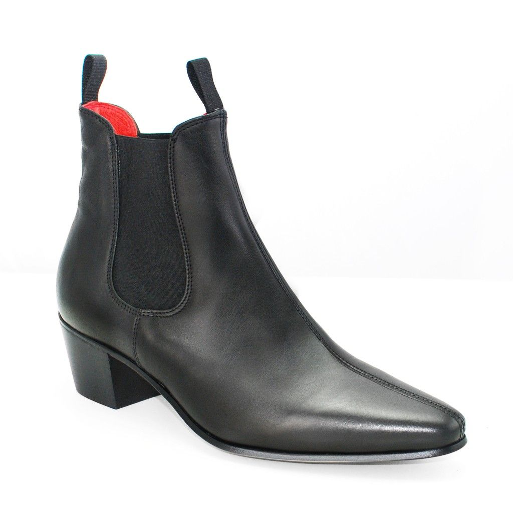 BeatWear Original Beatles boot maker. Chelsea boot in black premium Italian  calf leather Taken from