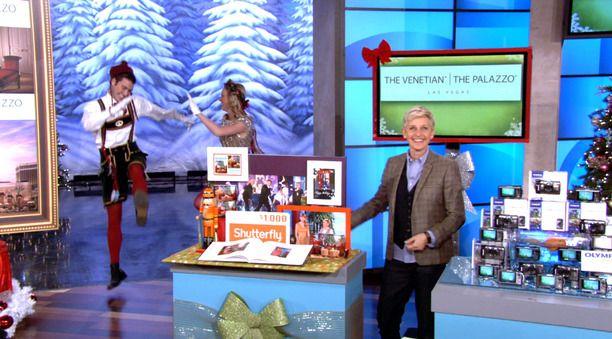 Ellen christmas giveaway