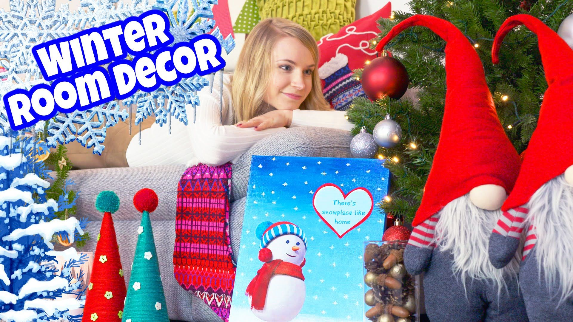 Diy Room Decor 10 Diy Projects For Winter Christmas Decorating Ideas Christmas Tree Pillow C Christmas Tree Pillow Christmas Room Decor Diy Frozen Room
