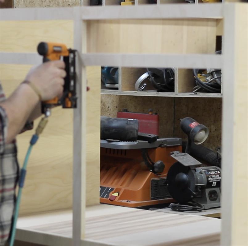 Plywood Garage Cabinet Plans: Storage Cabinet, Diy Garage, Tablesaw