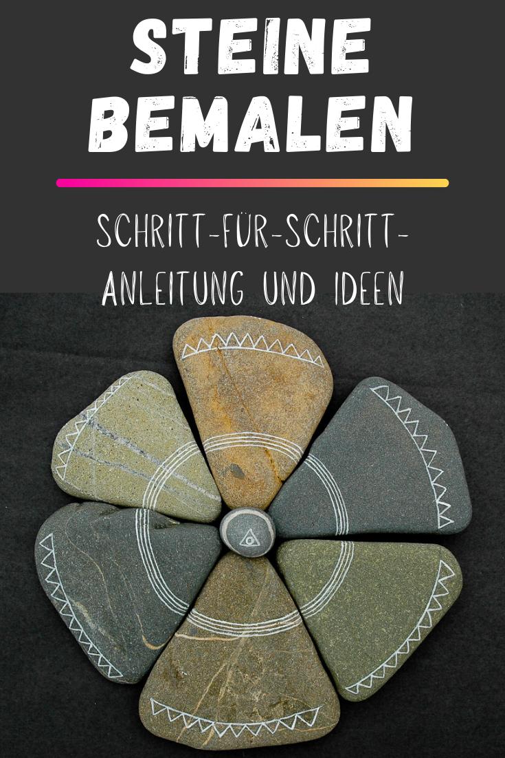 Steine Bemalen - Anleitung und Ideen für Kinder
