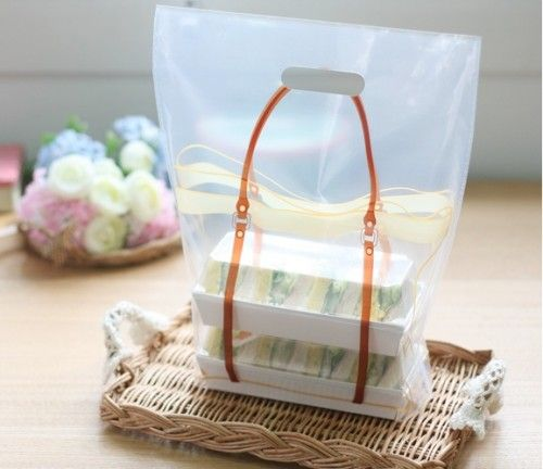 Plastic Illust Bag 30 Set M50 Plastic Bag Plastic Bag Design Gift Packaging