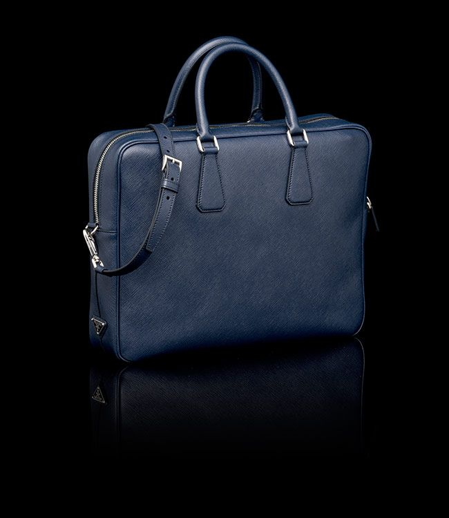 Well known Finally got it. Navy blue briefcase from Prada | Men's Style  KU89