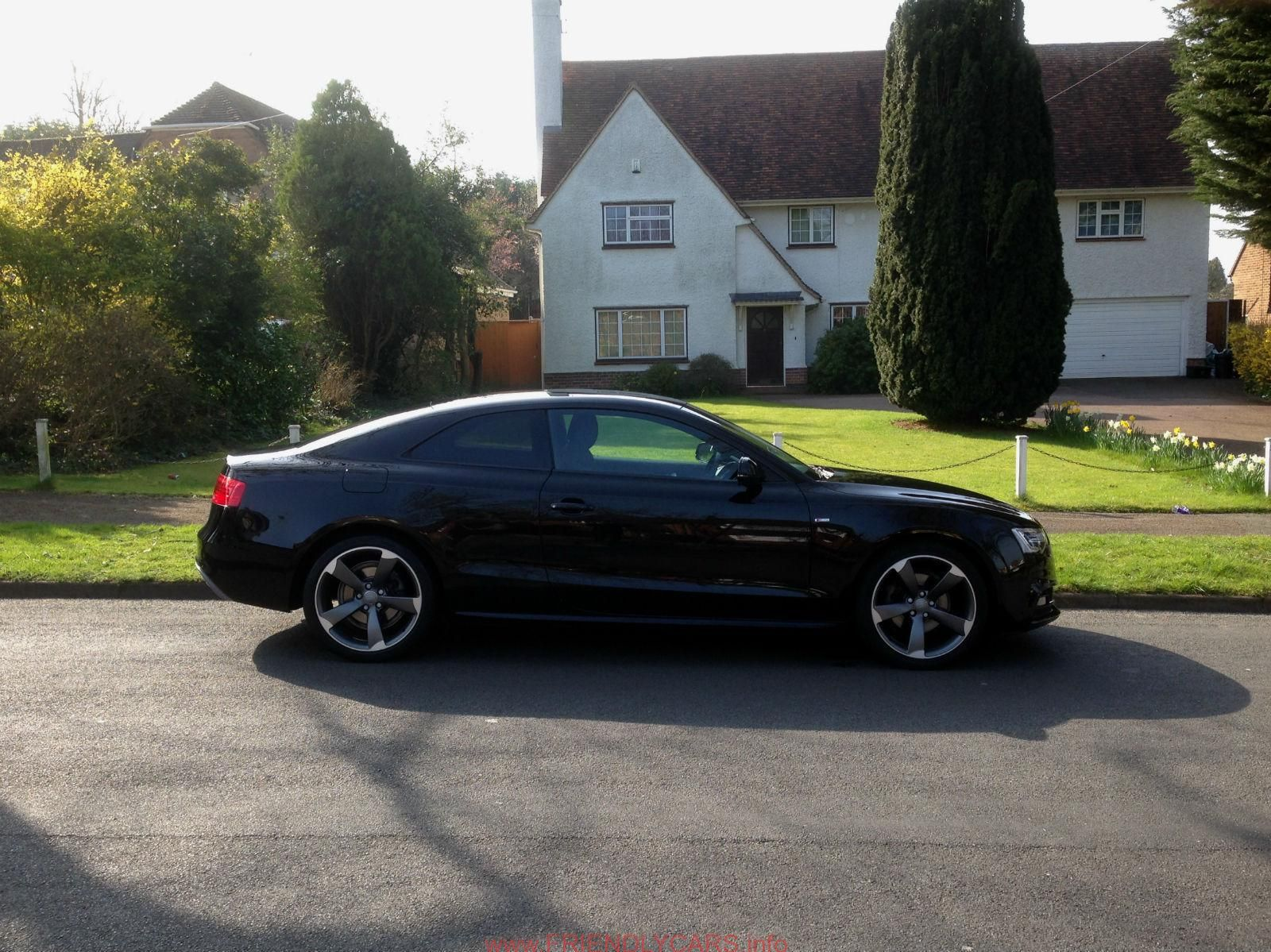 Awesome Audi A5 Coupe Black Edition Car Images Hd Audi A5 Reg 2012