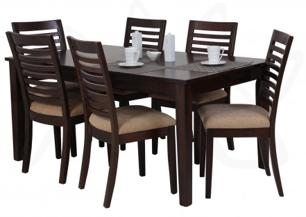 Juego de comedor para 6 personas, modelo OSCAR , Commodity, mesa ...