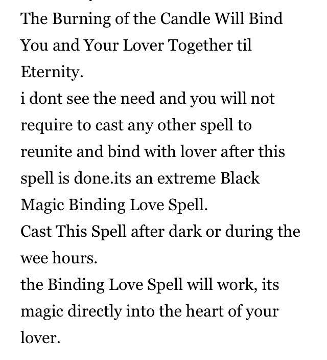 Binding love spell 2   Love spells   Witchcraft love spells
