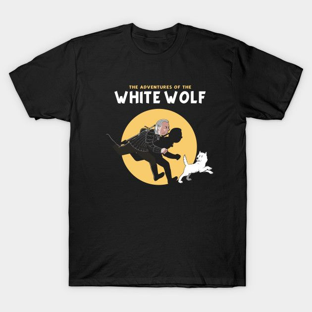 The Adventures of the White Wolf T-Shirt - The Shirt List