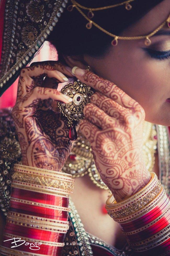 Bridal Mehndi Quotes : A indian bride mehndi churrahs bridal jewelry sikh