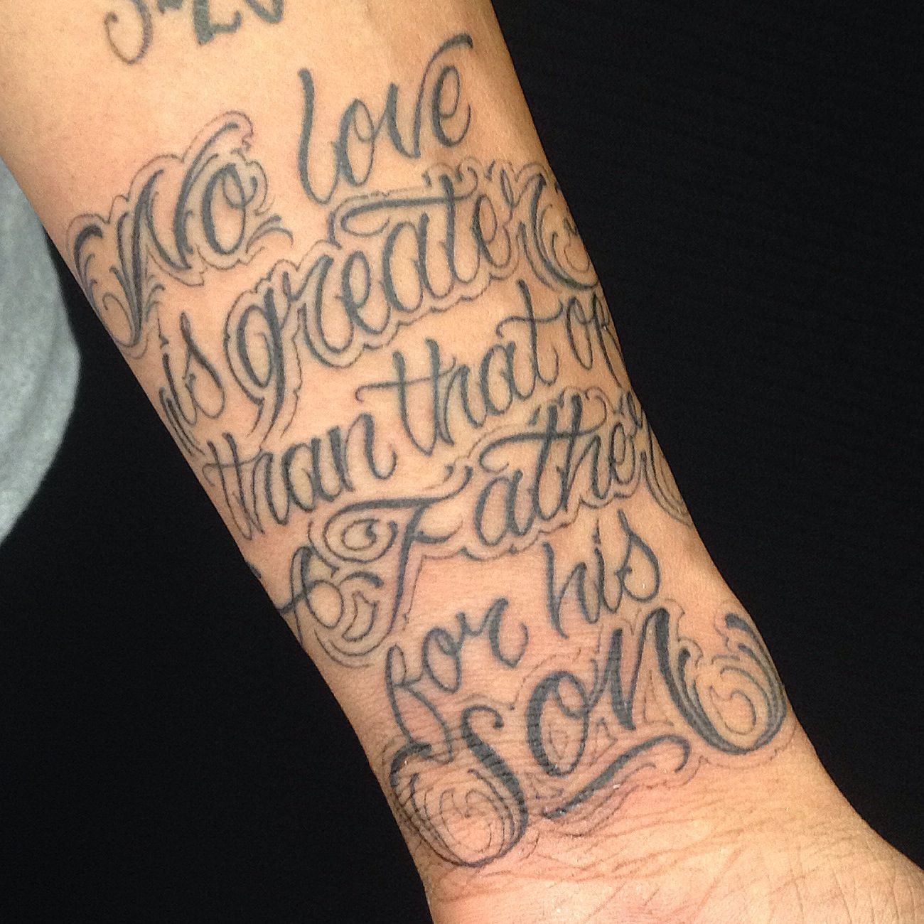 Tattoo Designs For Your Son: No Love Is Greater Than Of A Father For His Son