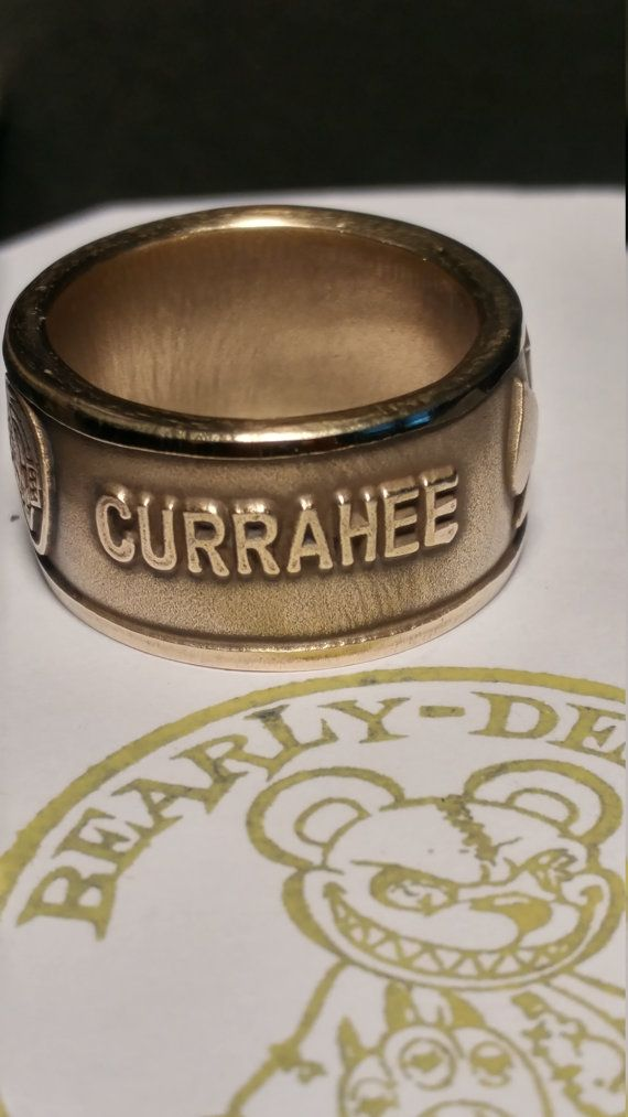 506th Currahee Challenge Coin Ring 101st Airborne Division Band