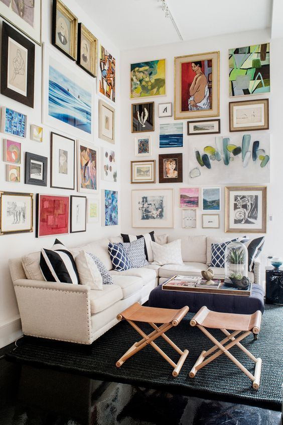 Fantastic Wall Decorating Ideas For Living Rooms To Try: Are You Thinking About Spicing Up Your Room? Try A Gallery