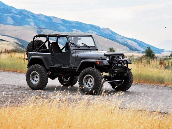 1991 Jeep Wrangler Yj Right Side Photo 10767506