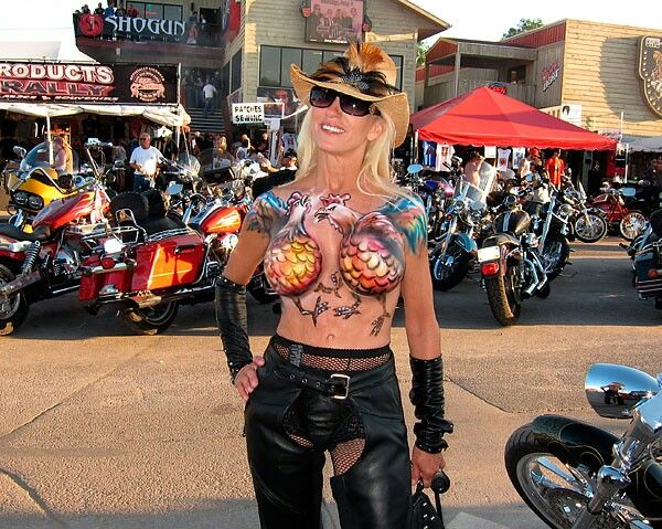 Rally body 2014 sturgis paint motorcycle