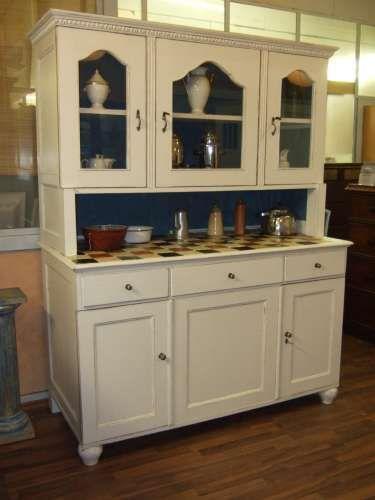 großes Jugendstil Buffet im Landhausstil gefasst - VERKAUFT - Ebay Kleinanzeigen Küchenschrank
