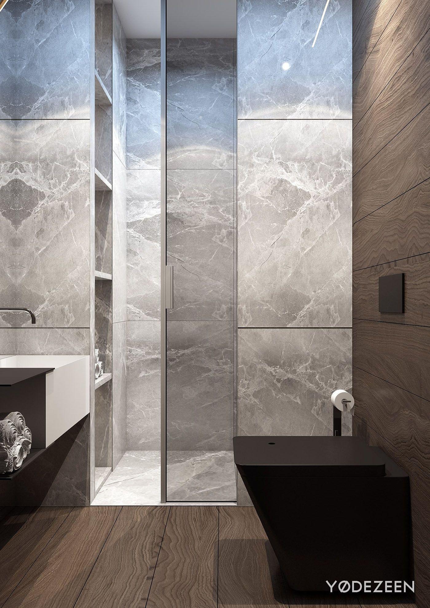 Badezimmer design hd-bilder stylish family apartment on behance  Μπάνιο  pinterest  behance